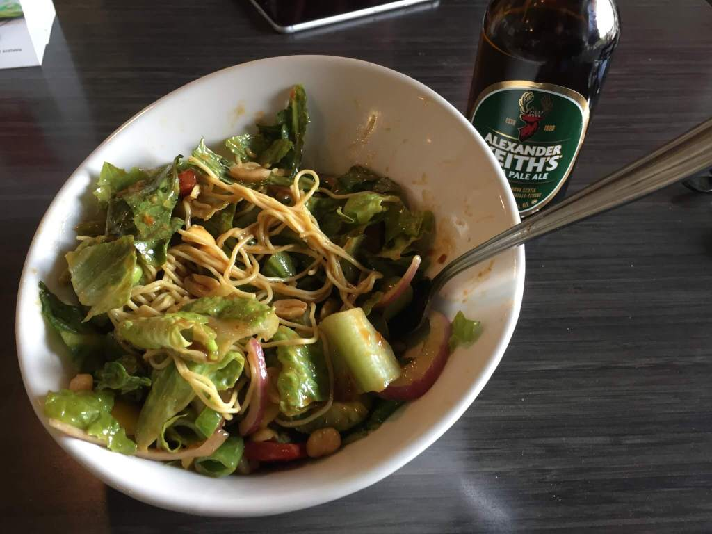Chopped Leaf Salad