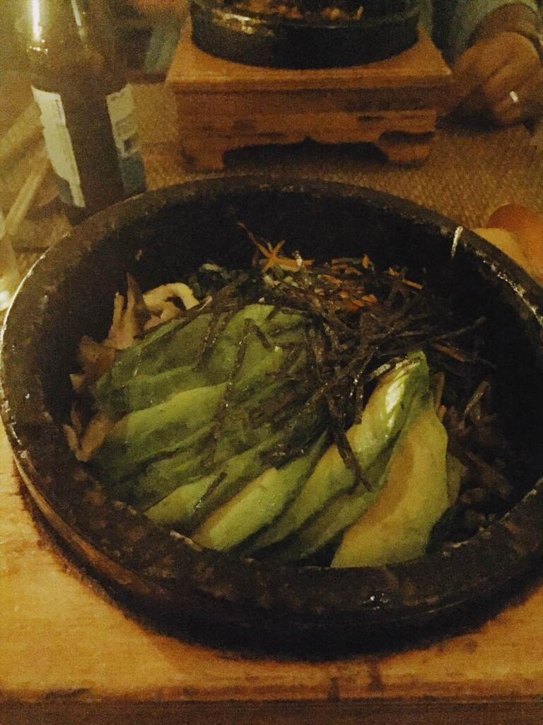 Avocado Bibimbap Korean Food NYC