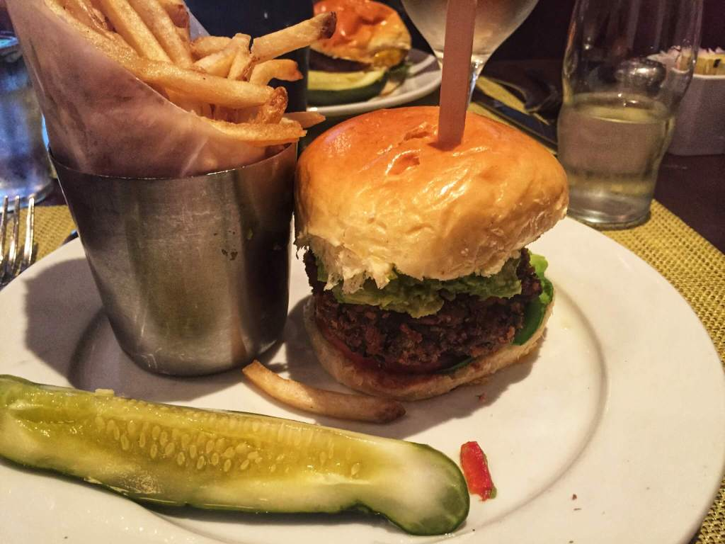 Vegetarian NYC | Veggie Burger
