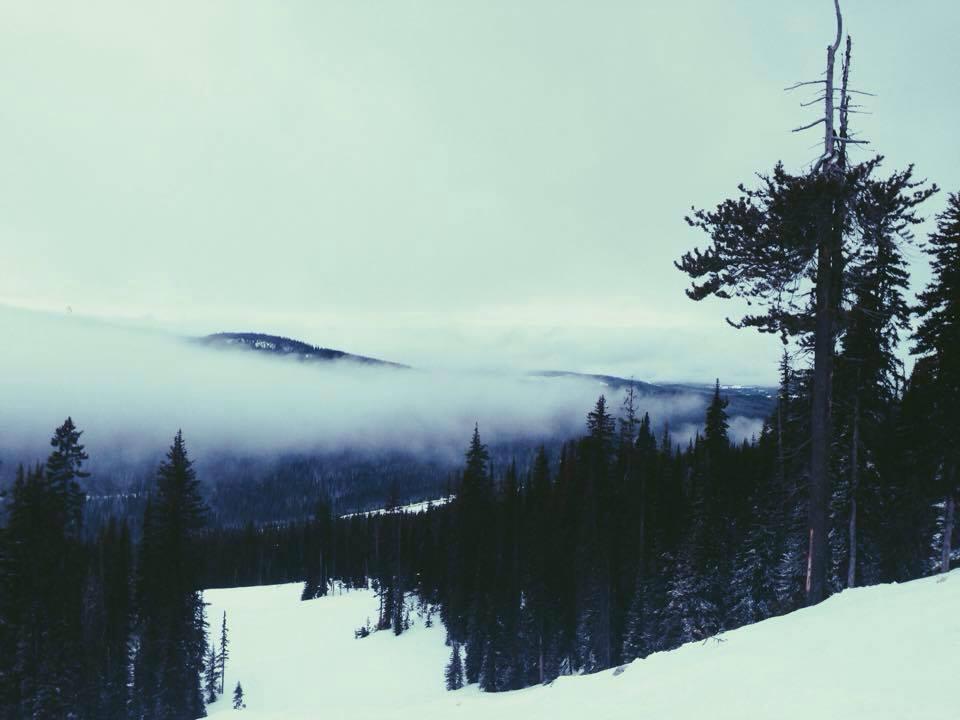 Skiing in Kelowna