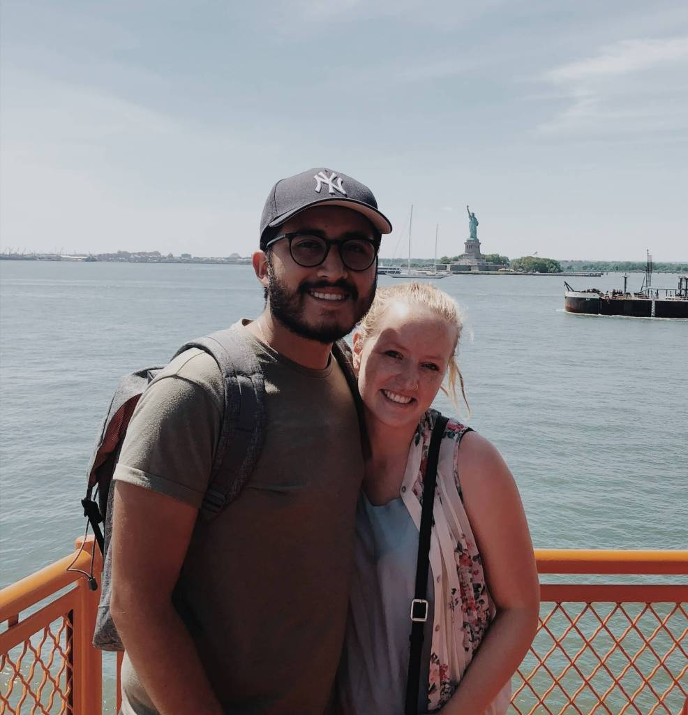 Staten Island Ferry View of the Statue of Liberty | Our NYC Honeymoon: A 4 Day NYC Itinerary