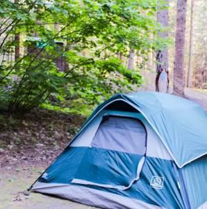 British Columbia Camping at Silver Lake