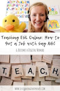 Teaching ESL Online: How to Get a Job with Say ABC and Become a Digital Nomad
