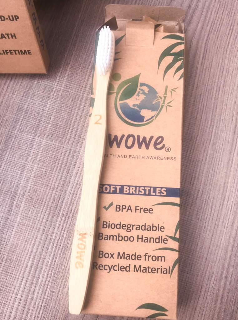 Plastic Free Oral Health | Sustainable Toothbrush