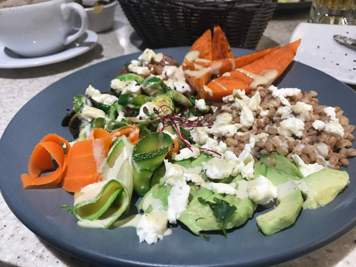 Garabatos Superfoods Bowl | Vegan Restaurants in Mexico City
