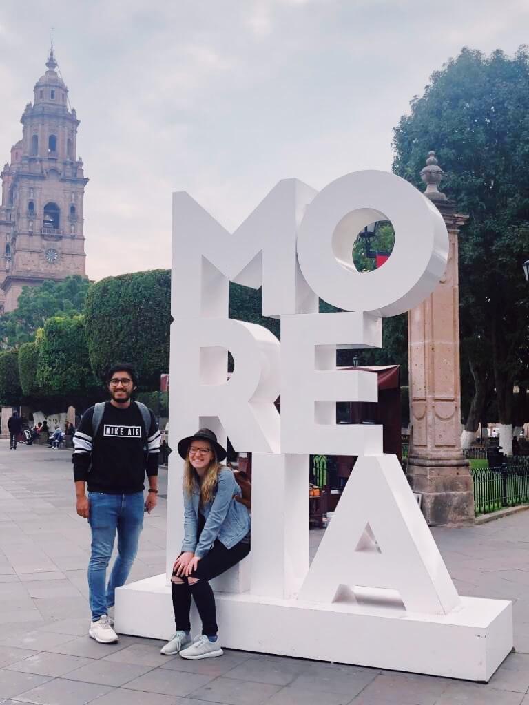 Visit Michoacán | Morelia Sign in Morelia Michoacán