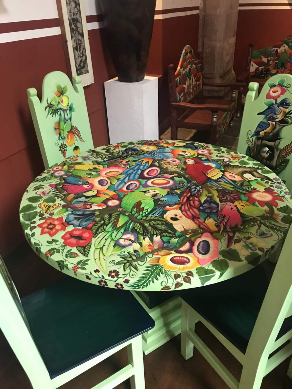 House of Handicrafts | Painted Table | Morelia