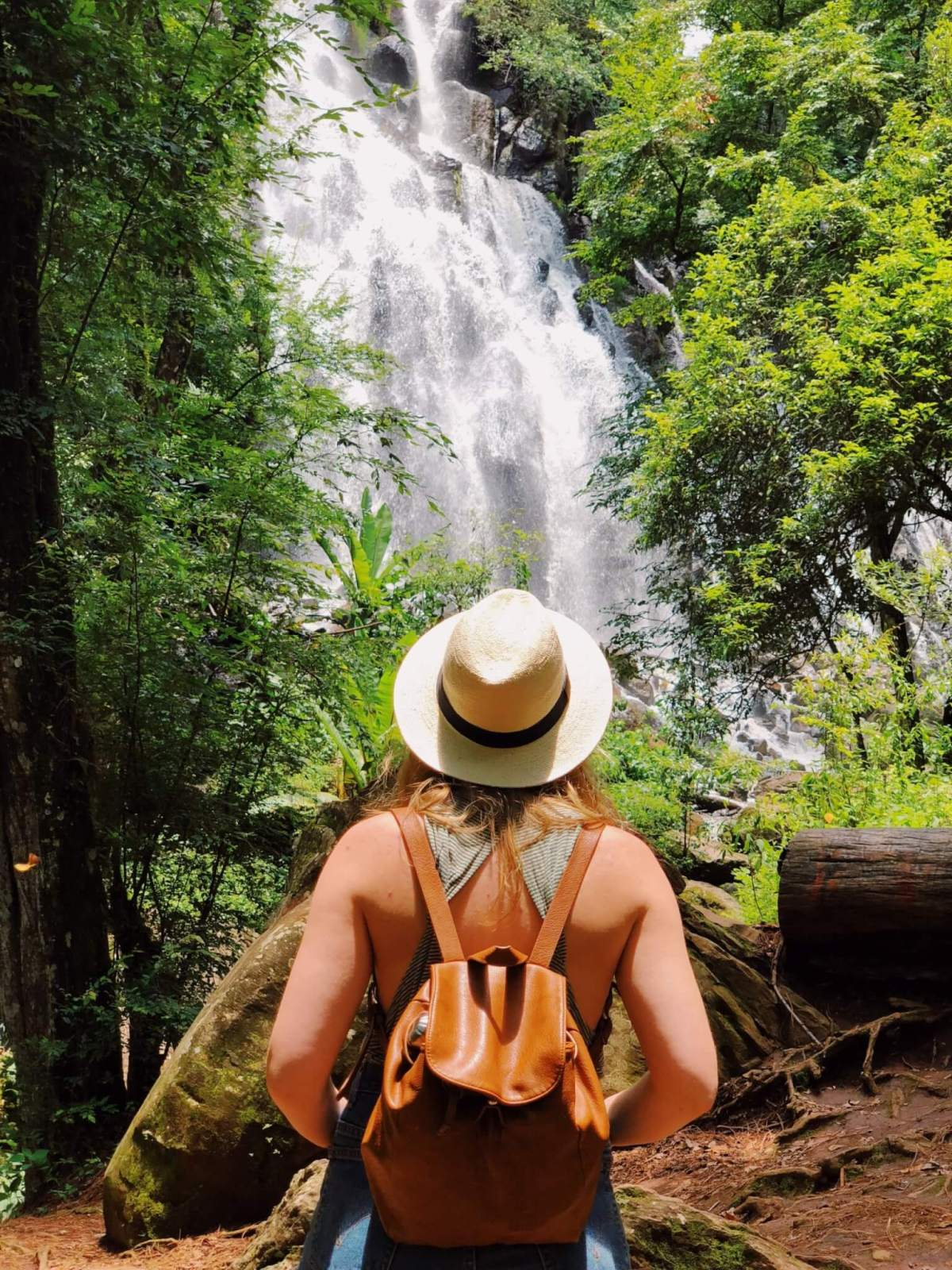 Velo de Novia Waterfall in Valle de Bravo Mexico