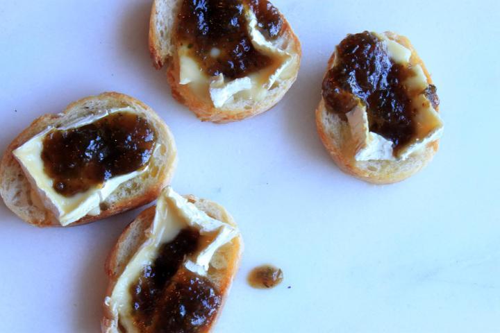 Fig & Camembert Crostini