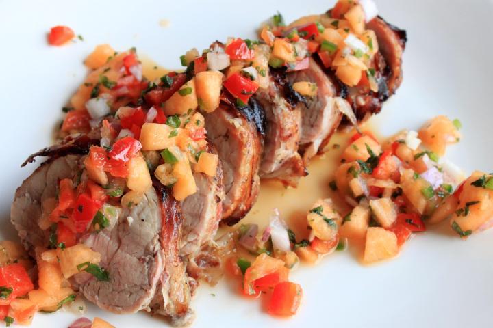 pancetta wrapped pork tenderloin