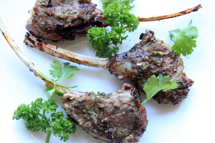 Mint & Cumin Spiced Lamb Chops