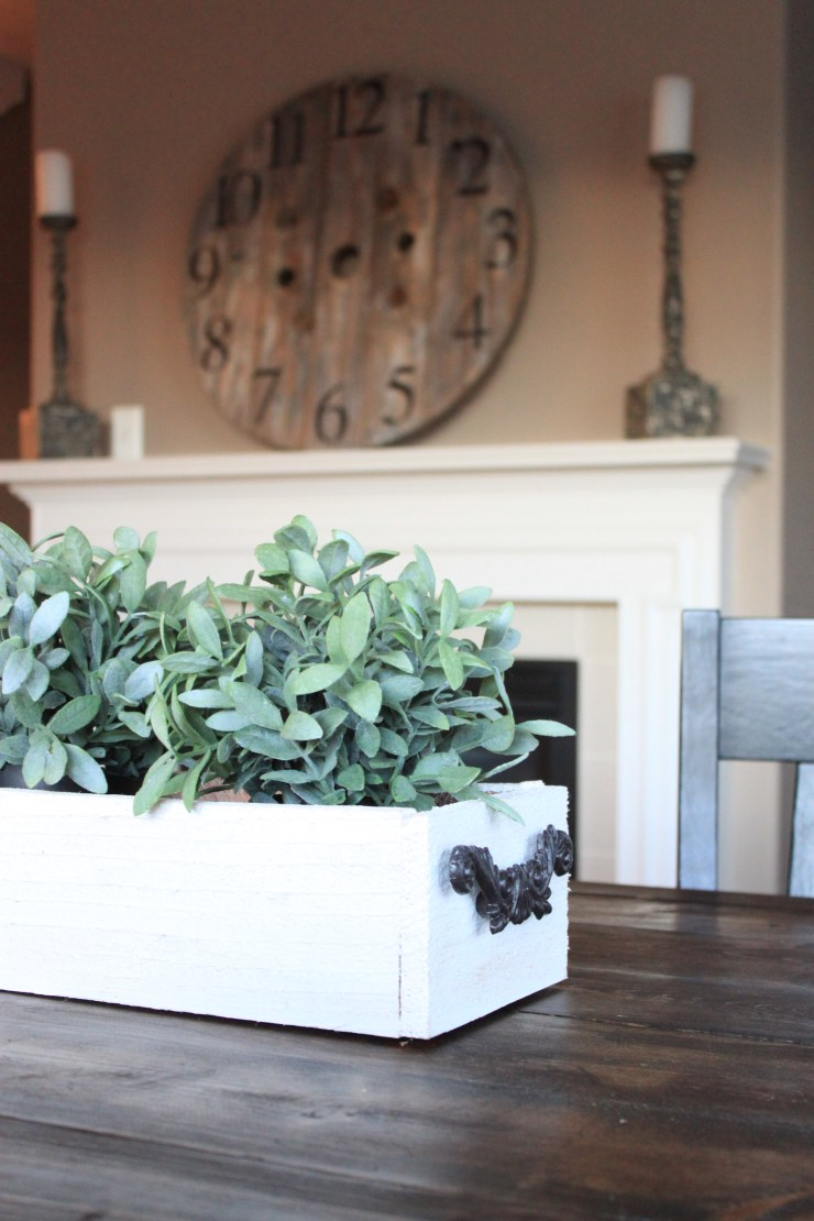 DIY planter centerpiece