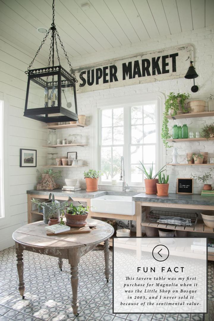 Inspired by…Joanna Gaines' Laundry Room