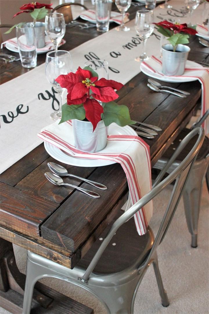 Christmas Table Décor
