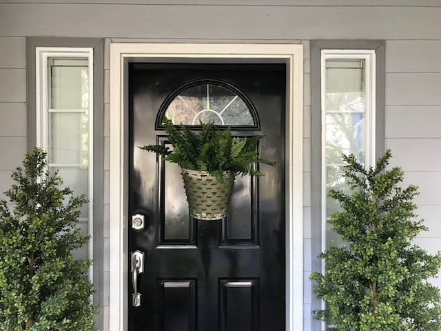 Diy Front Door Decor Just Like Playing House