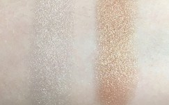 Swatches in natural lightening