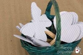 paipais en cesta forma corazón y mariposa