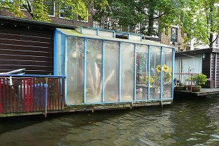 Hot house on water