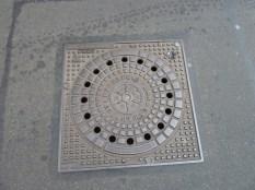 Erfurt manhole cover