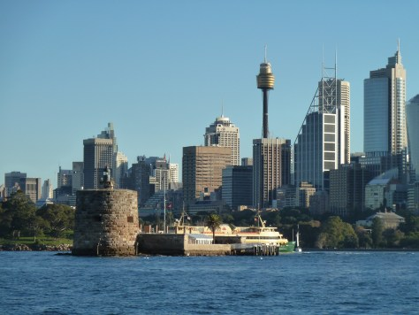 Views of the city of Sydney
