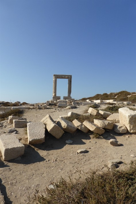 Portara and temple site