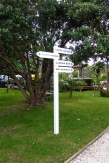 Kawau Lodge Signpost