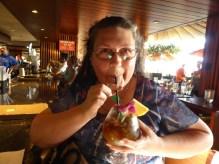 Mai Tai at Tropics Bar and Grill