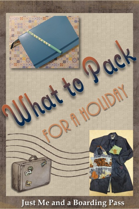 What to pack for a holiday