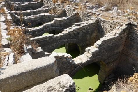 Delos theatre cistern