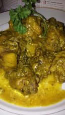 CURRIED CHICKEN THIGHS