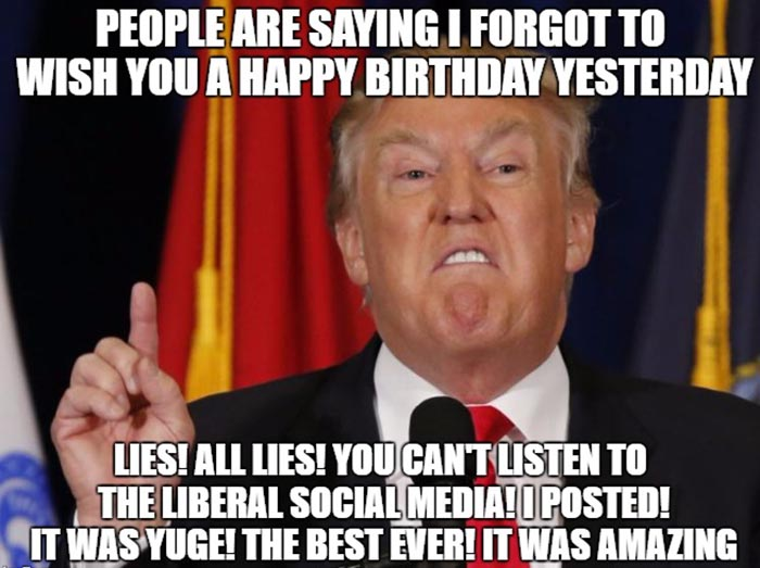 42 Funniest Belated Happy Birthday Meme Birthday Meme