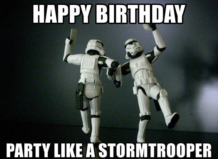 28 Awesome Star Wars Happy Birthday Meme Birthday Meme