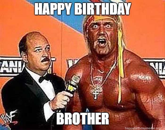 50 Funniest Happy Birthday Brother Meme Birthday Meme