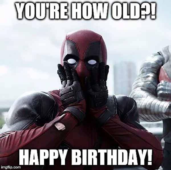 14 Funniest Deadpool Birthday Meme Justmeme