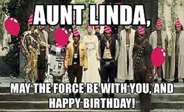 15 Best Happy Birthday Aunt Meme Just Meme