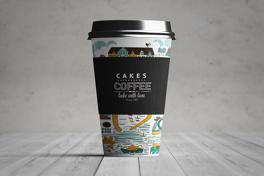 Download Paper Coffee Cup Mockup Free PSD 2020 - JustMockup