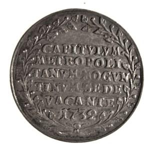 Mainz, Silver 1/8 Thaler. 1732. Reverse.