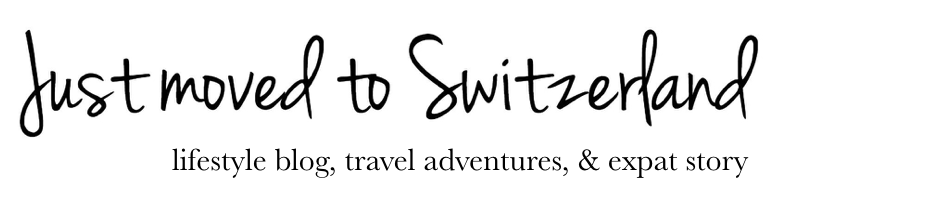Just moved to Switzerland blog