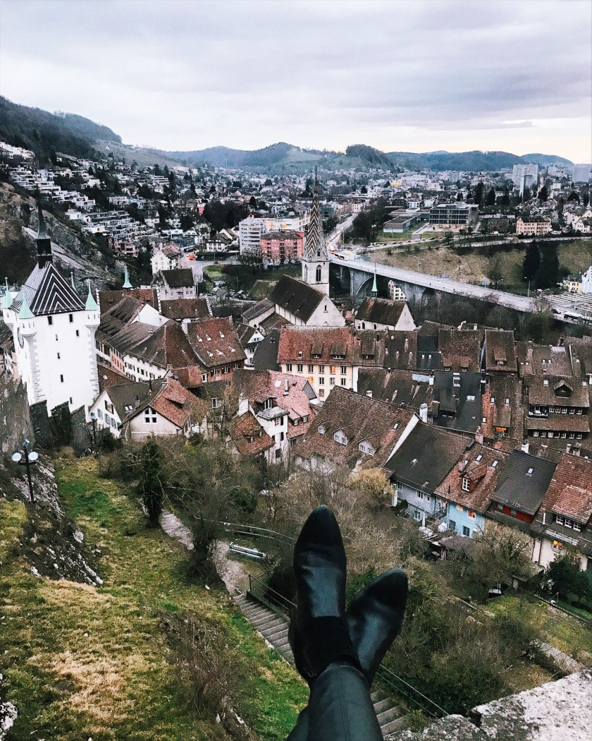 Views of Baden from the castle
