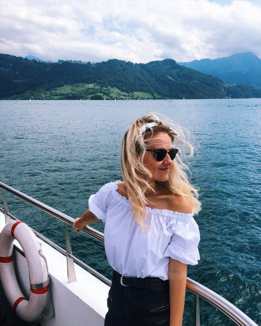 Summer on Lake Lucerne