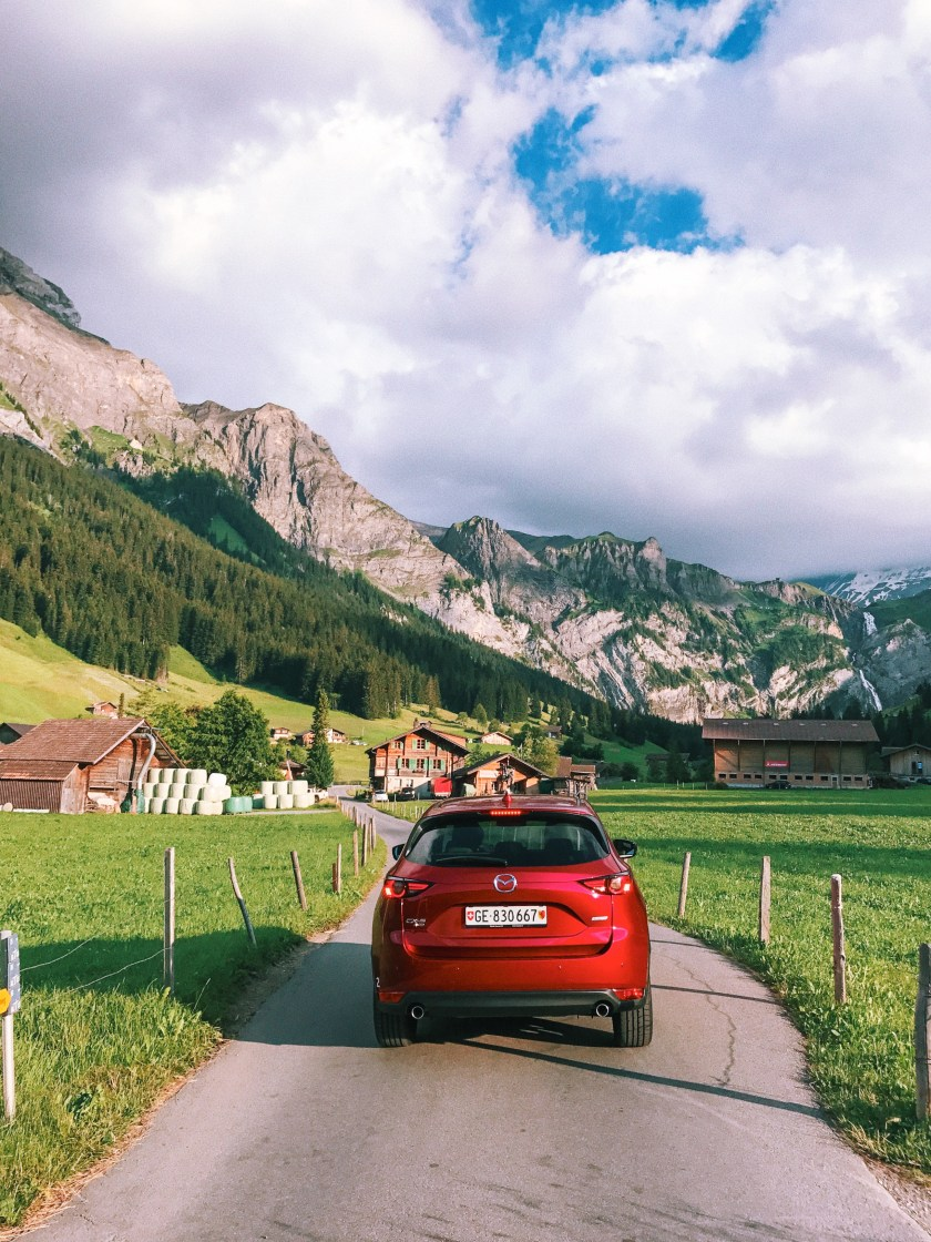 Roadtrip to Adelboden, Swiss Alps with Mazda
