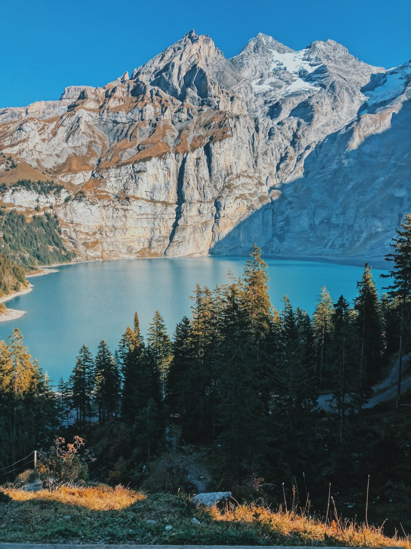 View of Oeschinensee, Switzerland
