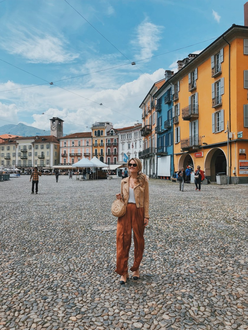 What to do in Locarno Piazza Grande Switzerland