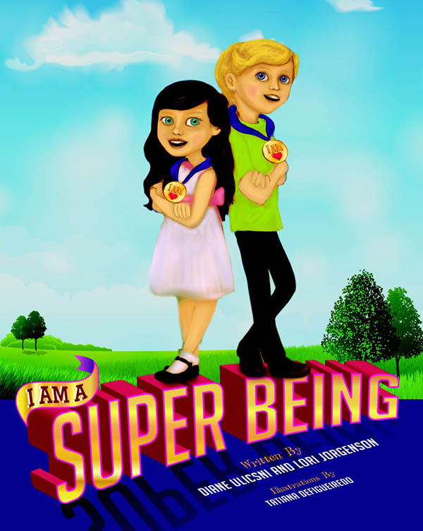 image of book cover for I am a Super Being