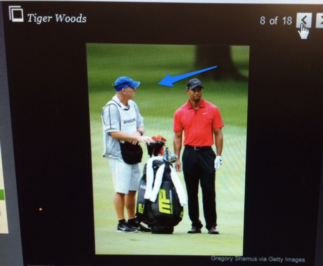 Image of Tiger Woods courtesy Gregory Shamus via Getty Images