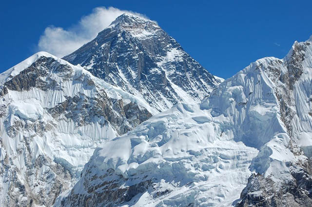 Image of Mt Everest courtesy Huffington Post
