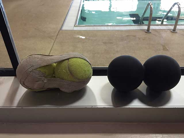 Image of tennis balls and Rad balls
