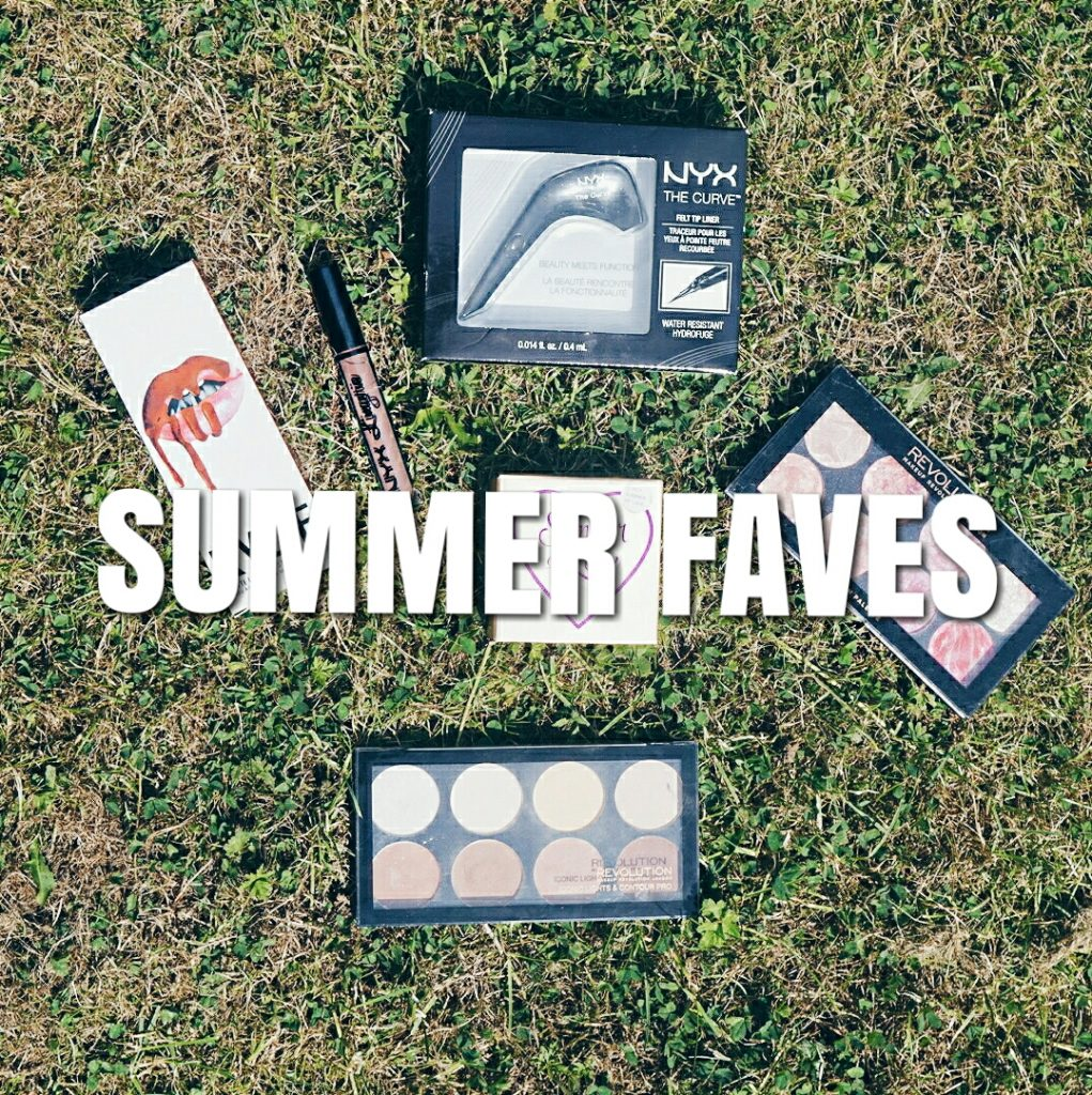 summer fave makeup post