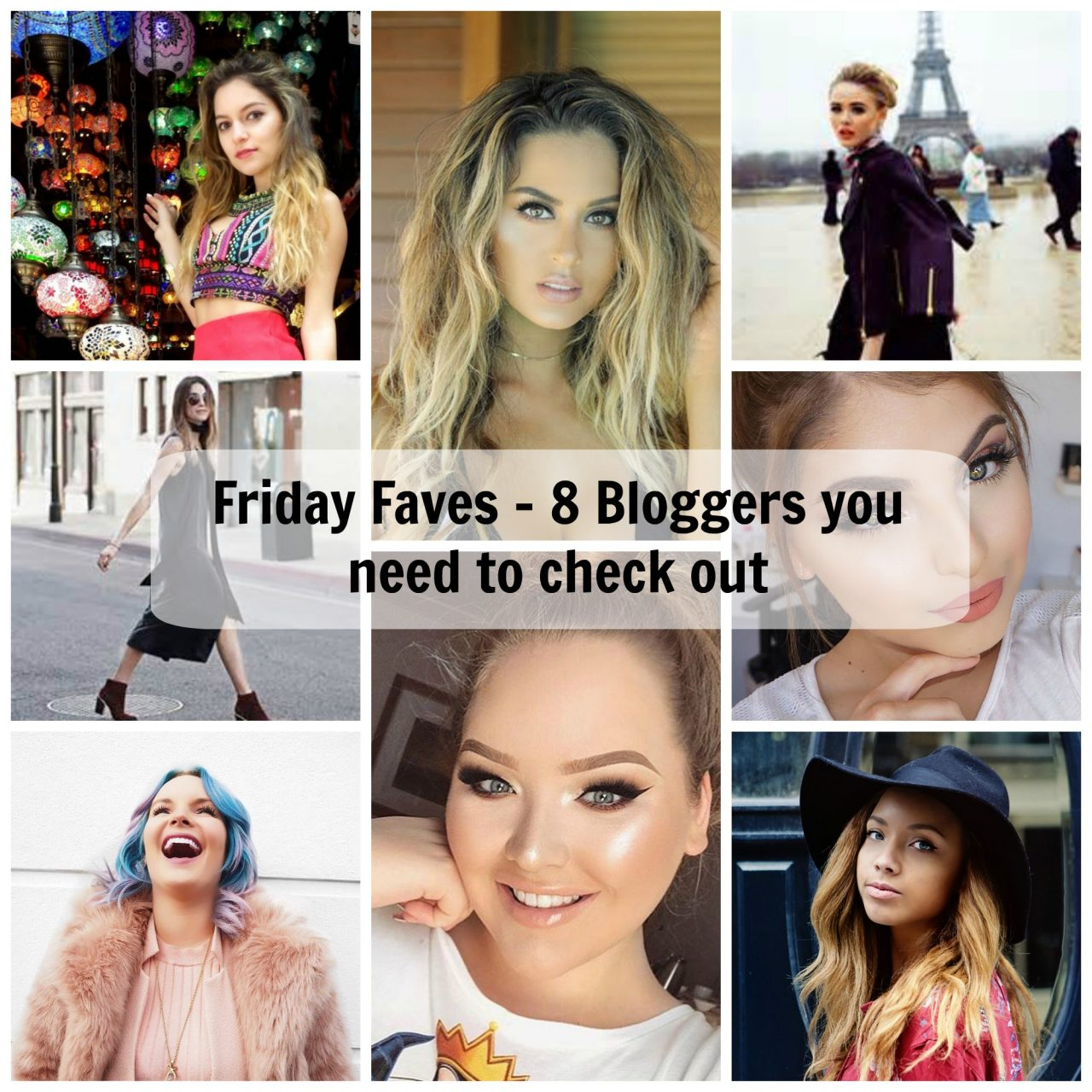 Friday Favourites – 8 bloggers you have to check out