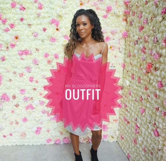My Blogosphere blog awards outfit